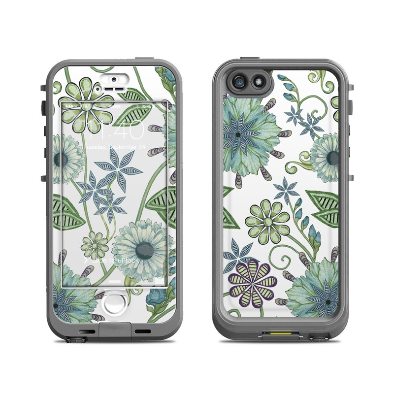 Antique Nouveau LifeProof iPhone SE, 5s nuud Case Skin
