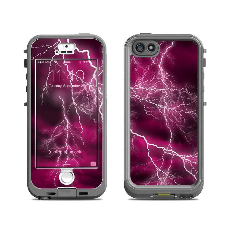 Apocalypse Pink LifeProof iPhone SE, 5s nuud Skin