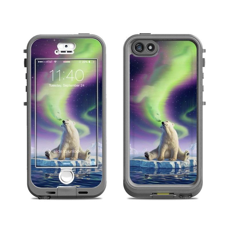Arctic Kiss LifeProof iPhone SE, 5s nuud Case Skin
