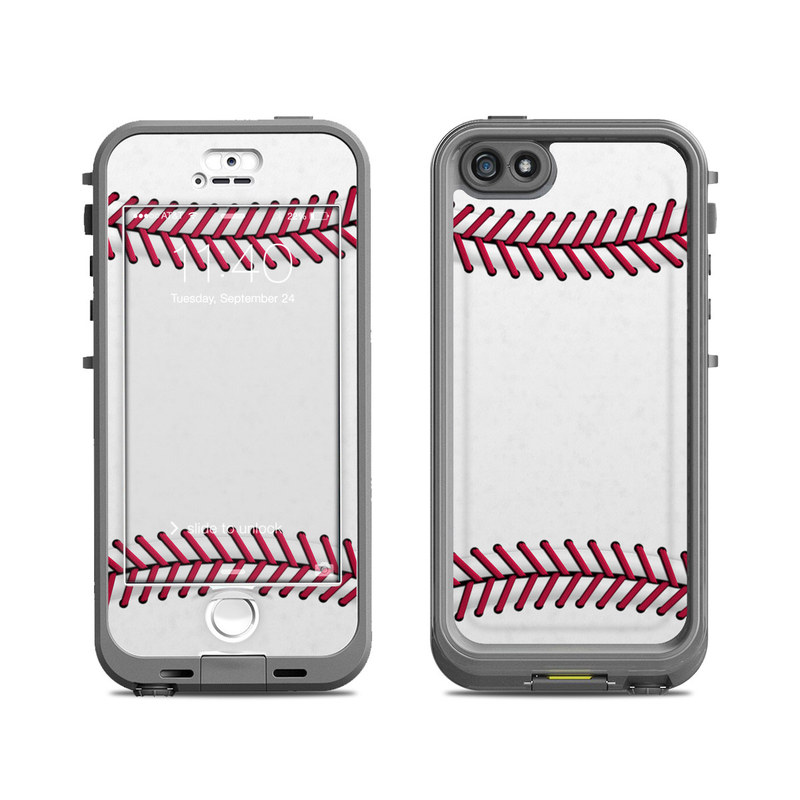 Baseball LifeProof iPhone SE, 5s nuud Case Skin