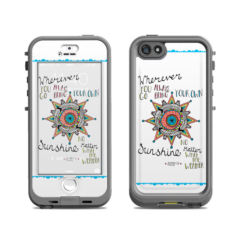 Bring Your Own LifeProof iPhone SE, 5s nuud Case Skin