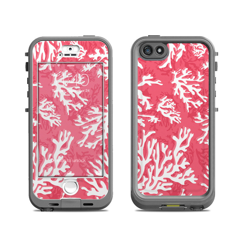 Coral Reef LifeProof iPhone SE, 5s nuud Case Skin