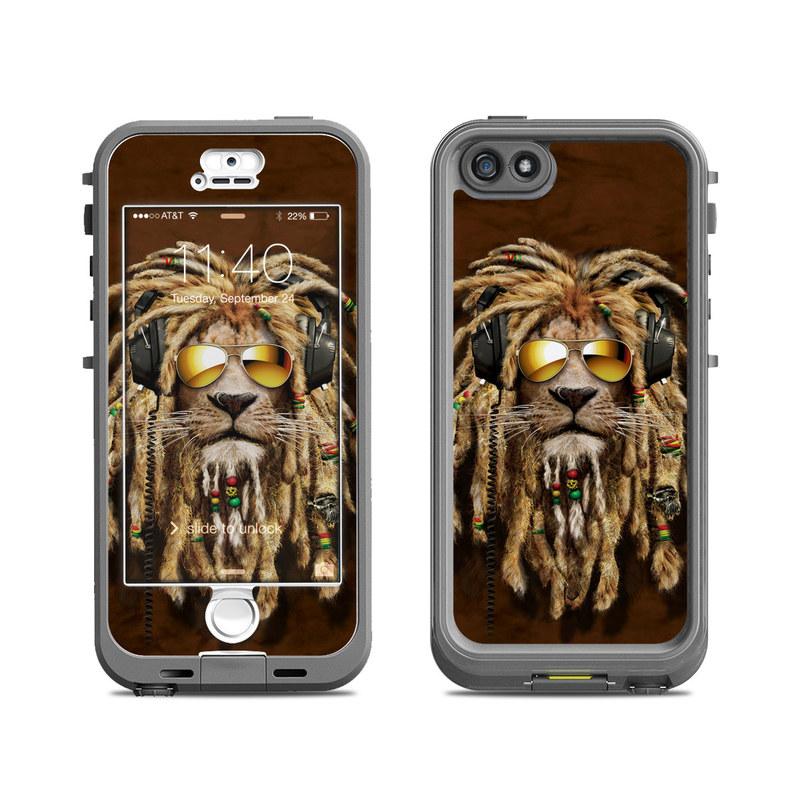 DJ Jahman LifeProof iPhone SE, 5s nuud Case Skin