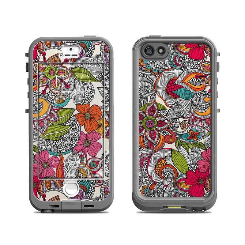 Doodles Color LifeProof iPhone SE, 5s nuud Skin