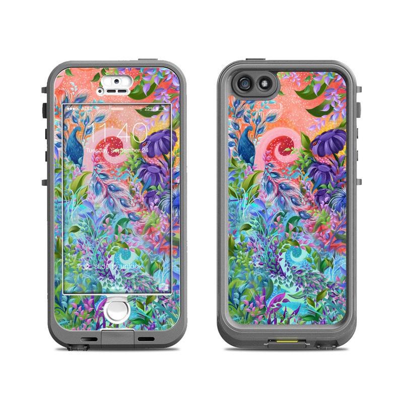 Fantasy Garden LifeProof iPhone SE, 5s nuud Skin