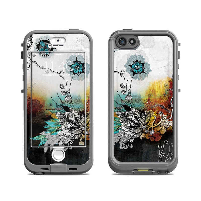 Frozen Dreams LifeProof iPhone SE, 5s nuud Case Skin