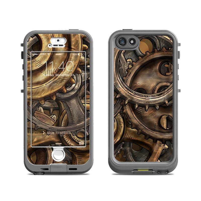 Gears LifeProof iPhone SE, 5s nuud Case Skin