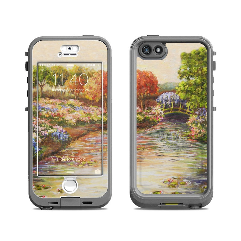Giverny Forever LifeProof iPhone SE, 5s nuud Case Skin