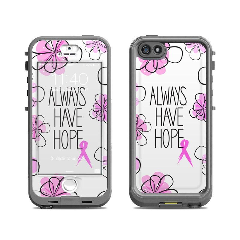 Always Have Hope LifeProof iPhone SE, 5s nuud Case Skin