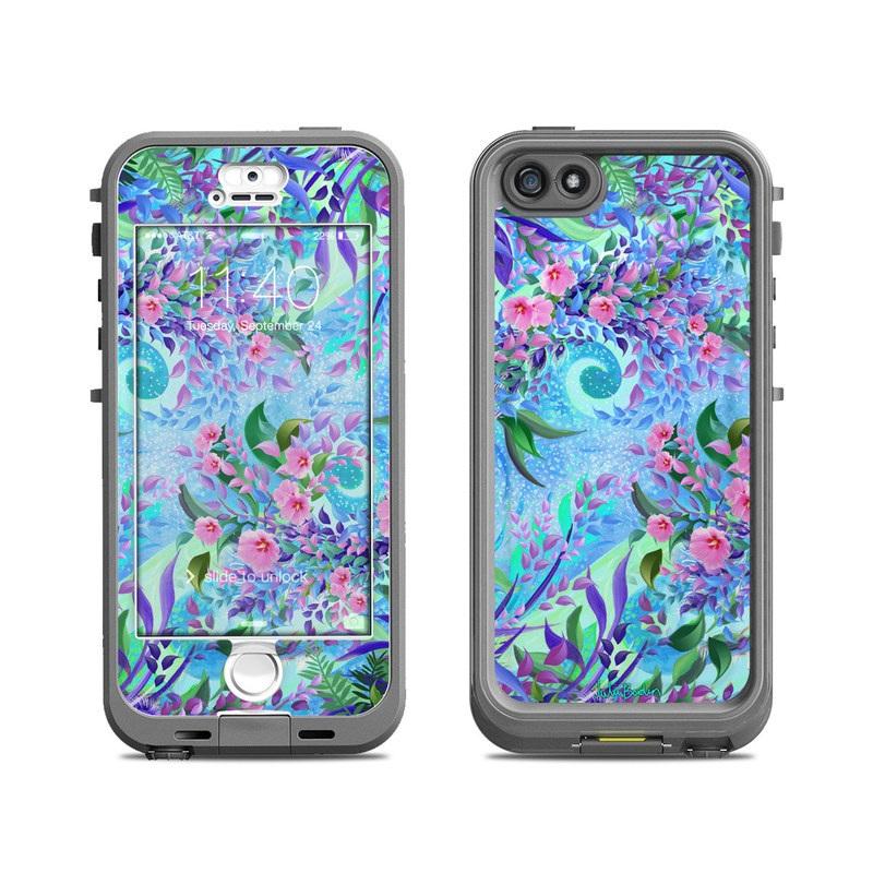Lavender Flowers LifeProof iPhone SE, 5s nuud Case Skin
