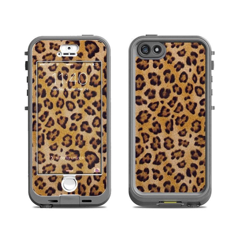 Leopard Spots LifeProof iPhone SE, 5s nuud Skin