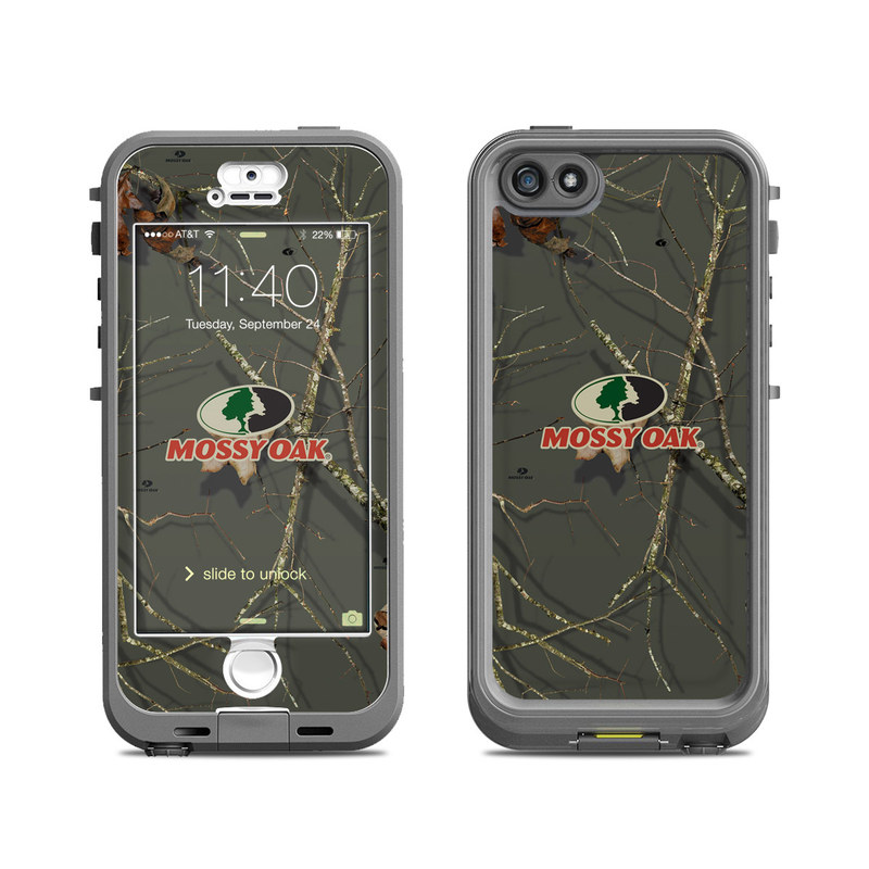 Break-Up Lifestyles Evergreen LifeProof iPhone SE, 5s nuud Case Skin