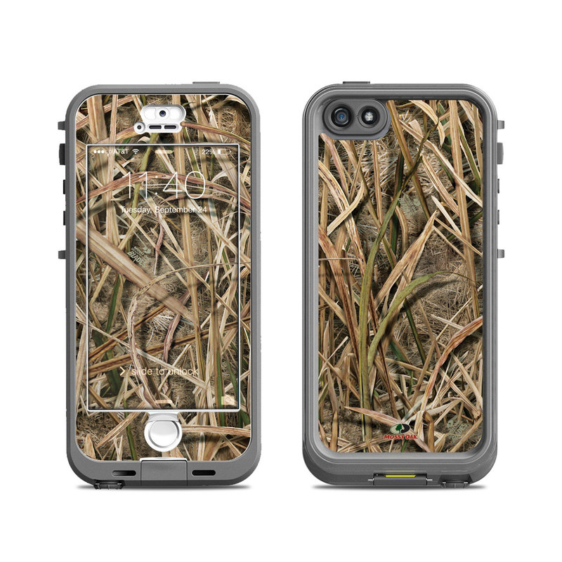 Shadow Grass Blades LifeProof iPhone SE, 5s nuud Case Skin