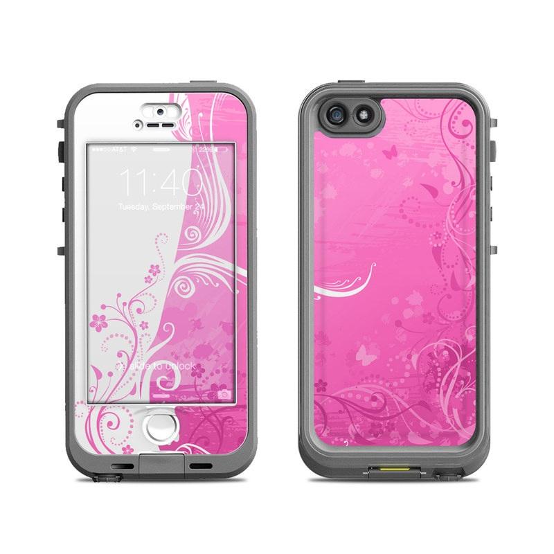 Pink Crush LifeProof iPhone SE, 5s nuud Skin