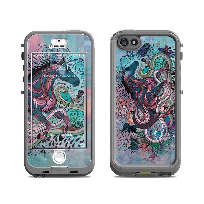 Poetry in Motion LifeProof iPhone SE, 5s nuud Case Skin