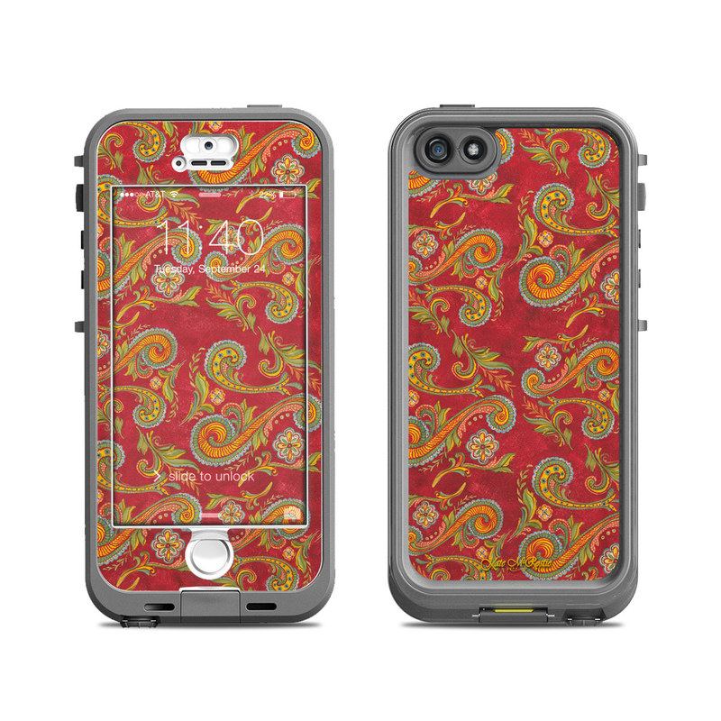 Shades of Fall LifeProof iPhone SE, 5s nuud Case Skin
