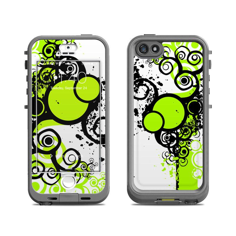 Simply Green LifeProof iPhone SE, 5s nuud Skin