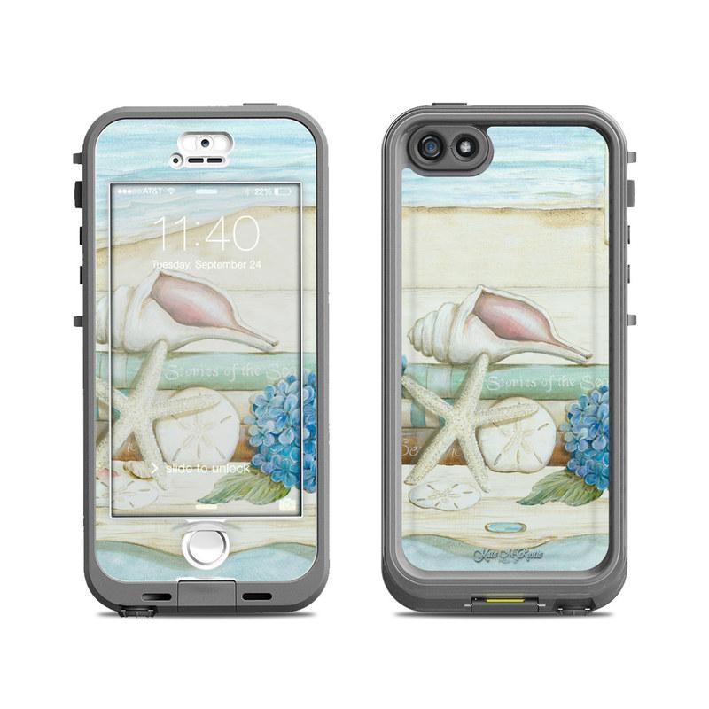 Stories of the Sea LifeProof iPhone SE, 5s nuud Skin