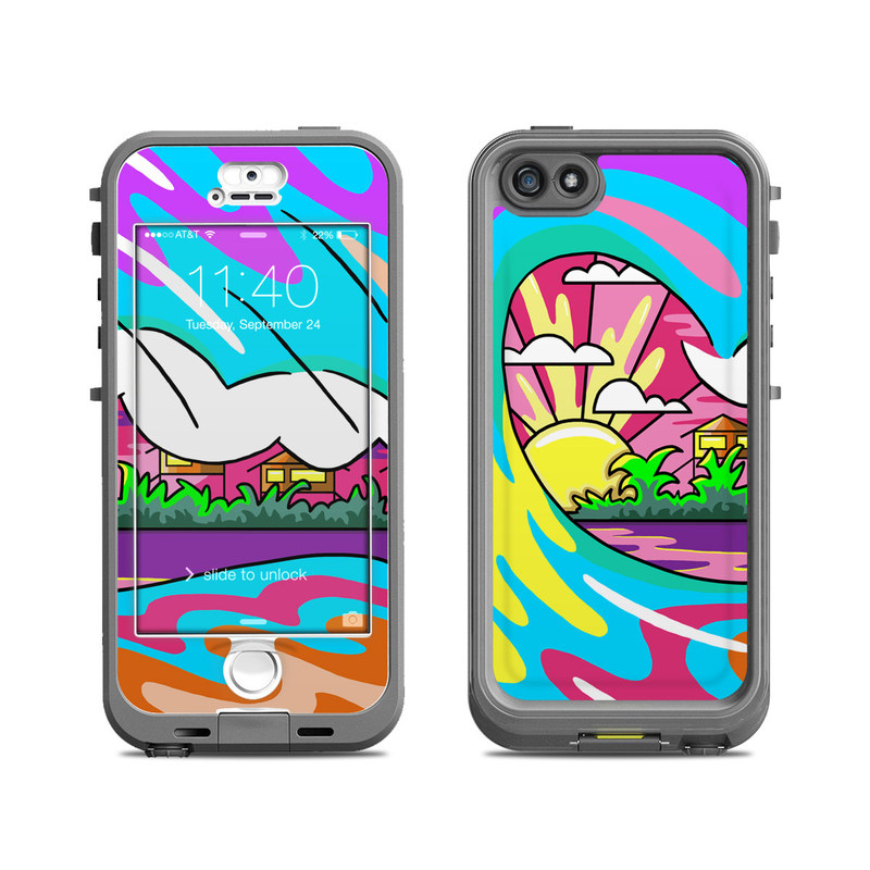 Sunset Break LifeProof iPhone SE, 5s nuud Case Skin