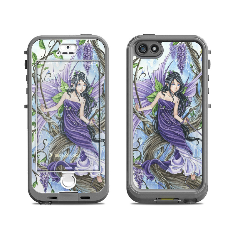 Wisteria LifeProof iPhone SE, 5s nuud Skin