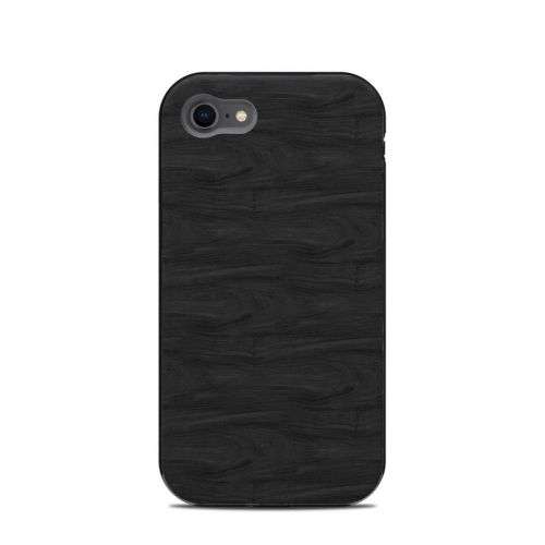 Black Woodgrain LifeProof iPhone 8 Next Case Skin