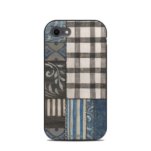 Country Chic Blue LifeProof iPhone 8 Next Case Skin