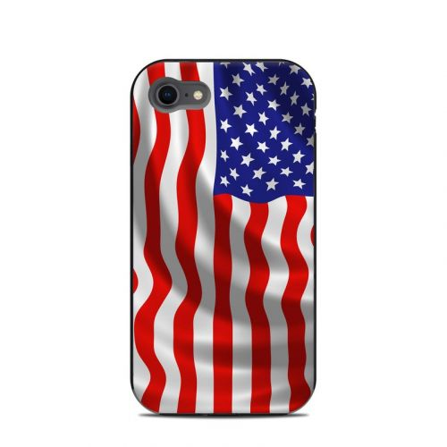 USA Flag LifeProof iPhone 8 Next Case Skin