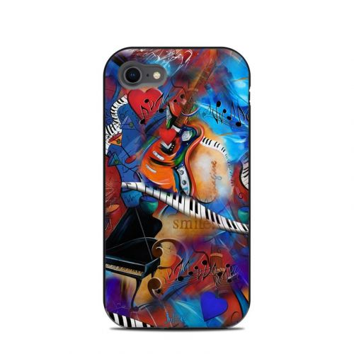 Music Madness LifeProof iPhone 8 Next Case Skin