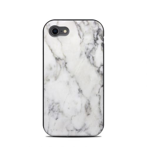 White Marble LifeProof iPhone 8 Next Case Skin