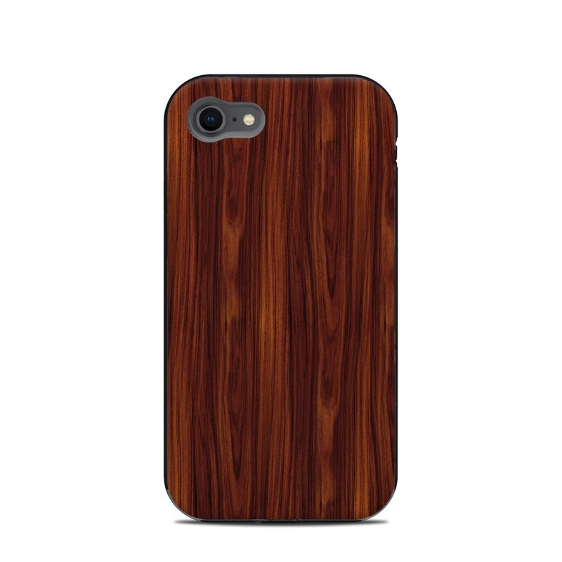 LifeProof iPhone 8 Next Case Skin design of Wood, Red, Brown, Hardwood, Wood flooring, Wood stain, Caramel color, Laminate flooring, Flooring, Varnish with black, red colors