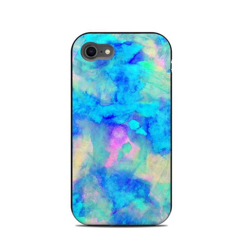 Electrify Ice Blue LifeProof iPhone 8 Next Case Skin