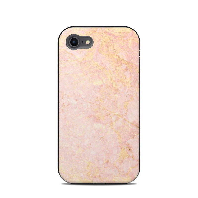 LifeProof iPhone 8 Next Case Skin design of Pink, Peach, Wallpaper, Pattern with pink, yellow, orange colors
