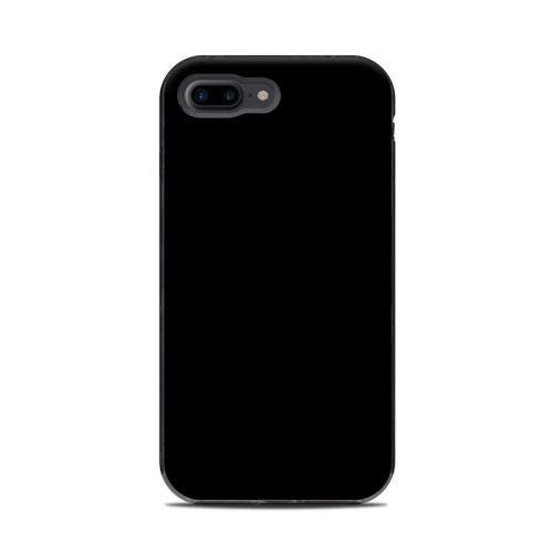 Solid State Black LifeProof iPhone 8 Plus Next Case Skin
