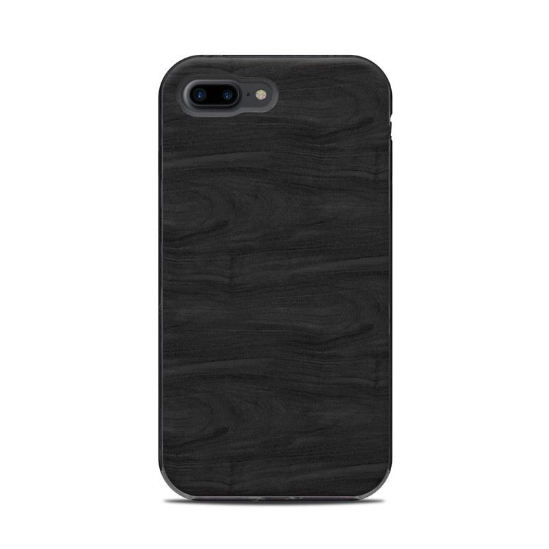 innovative design cc3af c3926 Black Woodgrain LifeProof iPhone 8 Plus Next Case Skin