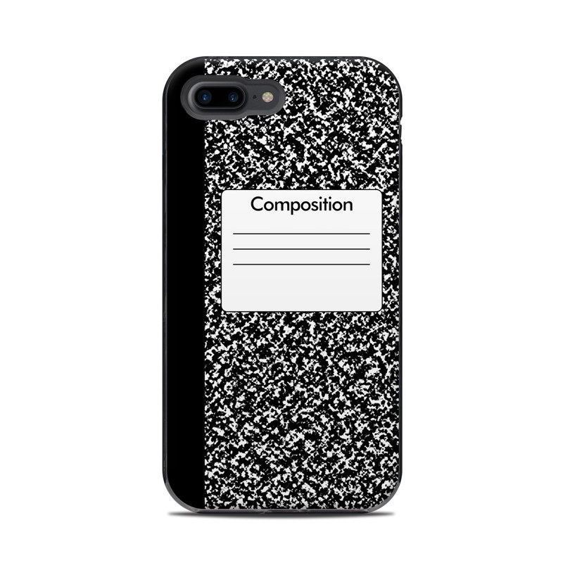 sale retailer ac2df 835da Composition Notebook LifeProof iPhone 8 Plus Next Case Skin