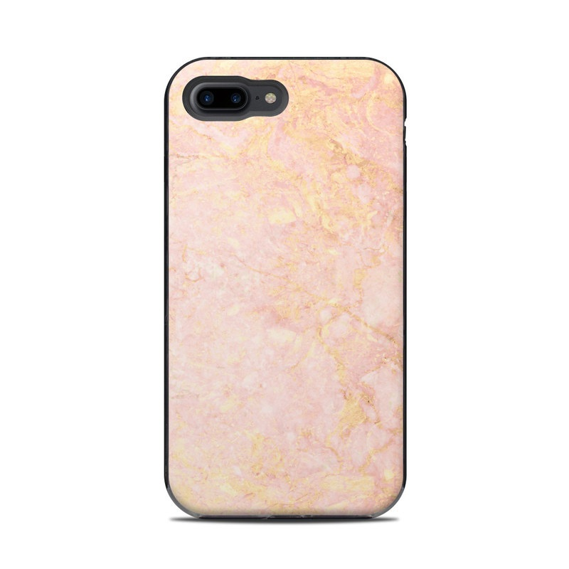 Rose Gold Marble LifeProof iPhone 8 Plus Next Case Skin