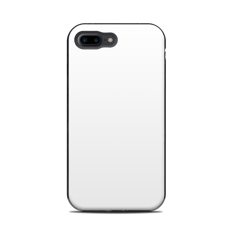 release date ae636 6d483 Solid State White LifeProof iPhone 8 Plus Next Case Skin