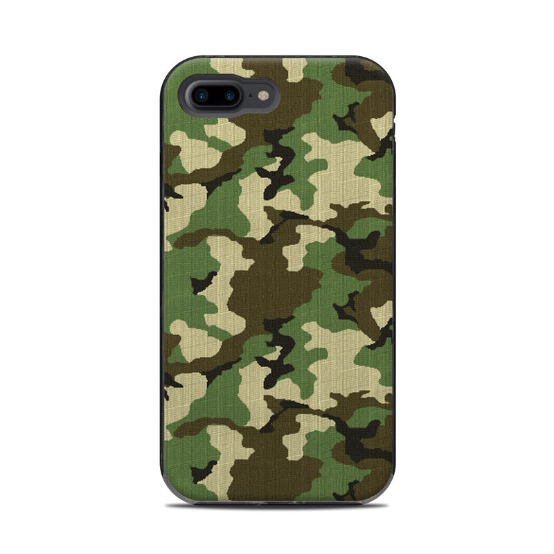 newest 6e6da f666b Woodland Camo LifeProof iPhone 8 Plus Next Case Skin