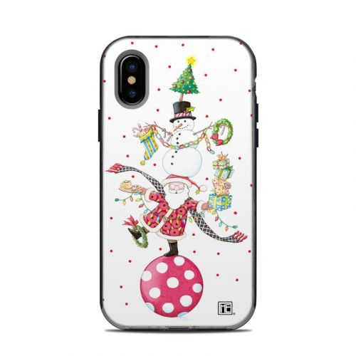 Christmas Circus LifeProof iPhone X Next Case Skin