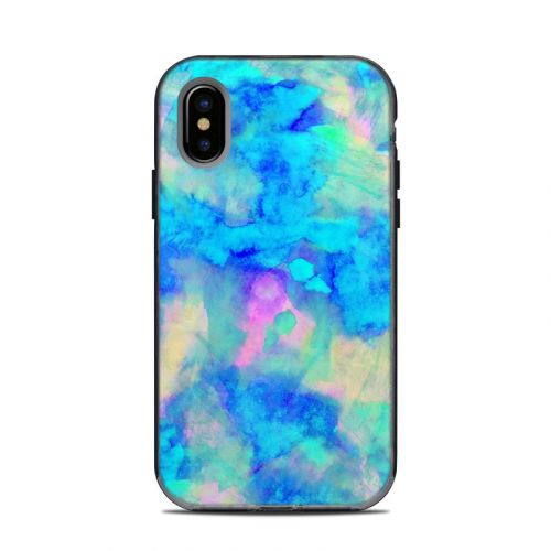 Electrify Ice Blue LifeProof iPhone X Next Case Skin