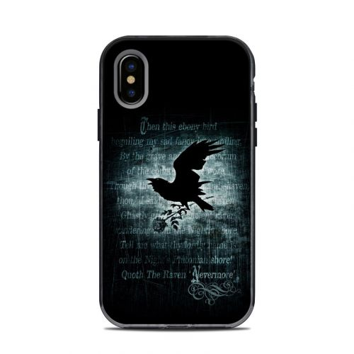 Nevermore LifeProof iPhone X Next Case Skin