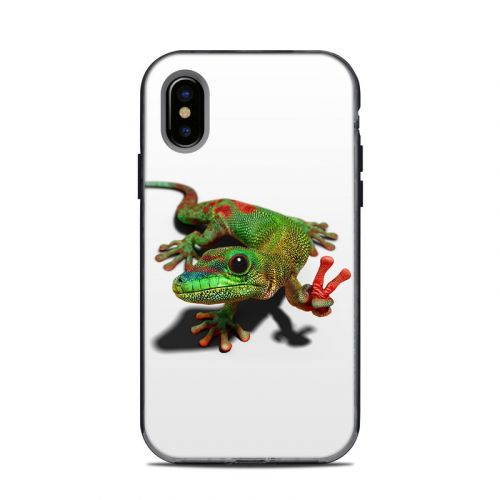 Peace Gecko LifeProof iPhone X Next Case Skin