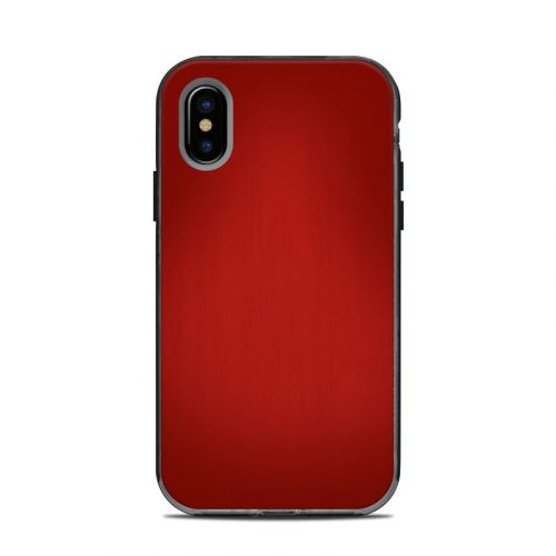 Red Burst LifeProof iPhone X Next Case Skin