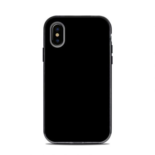 Solid State Black LifeProof iPhone X Next Case Skin