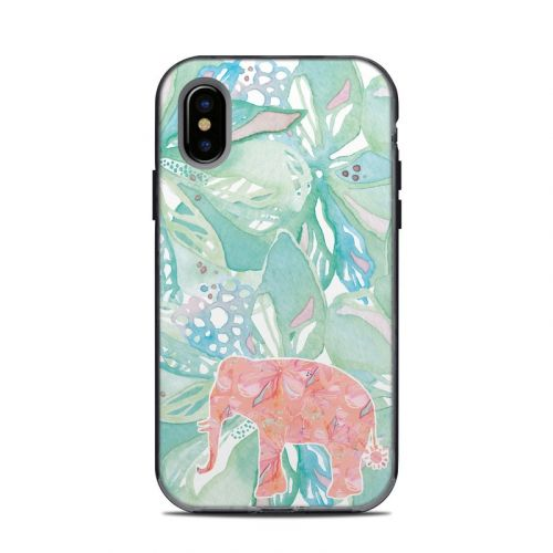 Tropical Elephant LifeProof iPhone X Next Case Skin