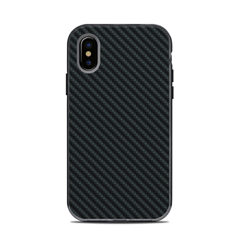 Carbon LifeProof iPhone X Next Case Skin