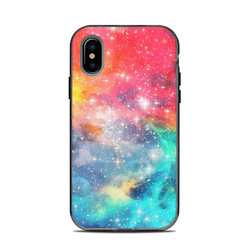 Galactic LifeProof iPhone X Next Case Skin