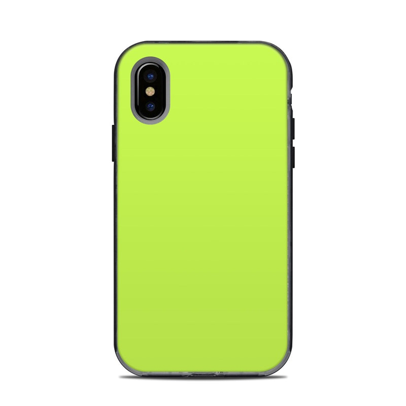 Solid State Lime LifeProof iPhone X Next Case Skin