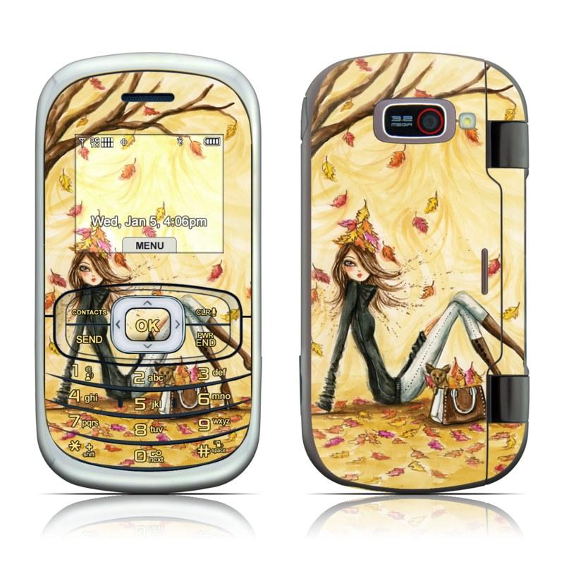 Autumn Leaves LG Octane VN530 Skin