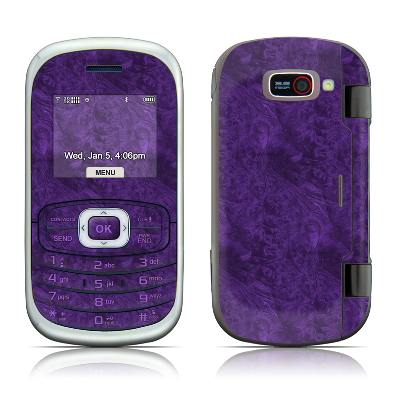 Purple Lacquer LG Octane VN530 Skin